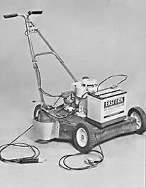 If you can scrounge an old lawn mower, an automobile alternator, and a 12-volt battery, you can build your own portable DC arc welder. Originally published as