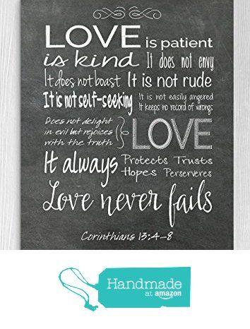 "1st Corinthians 13 Fine Art Print "" Love is Patient Love is Kind"", First Anniversary Gift **Unframed** from Molly Moon Design https://www.amazon.com/dp/B06XC7QT5L/ref=hnd_sw_r_pi_awdo_a5U8ybT57QGSP #handmadeatamazon"