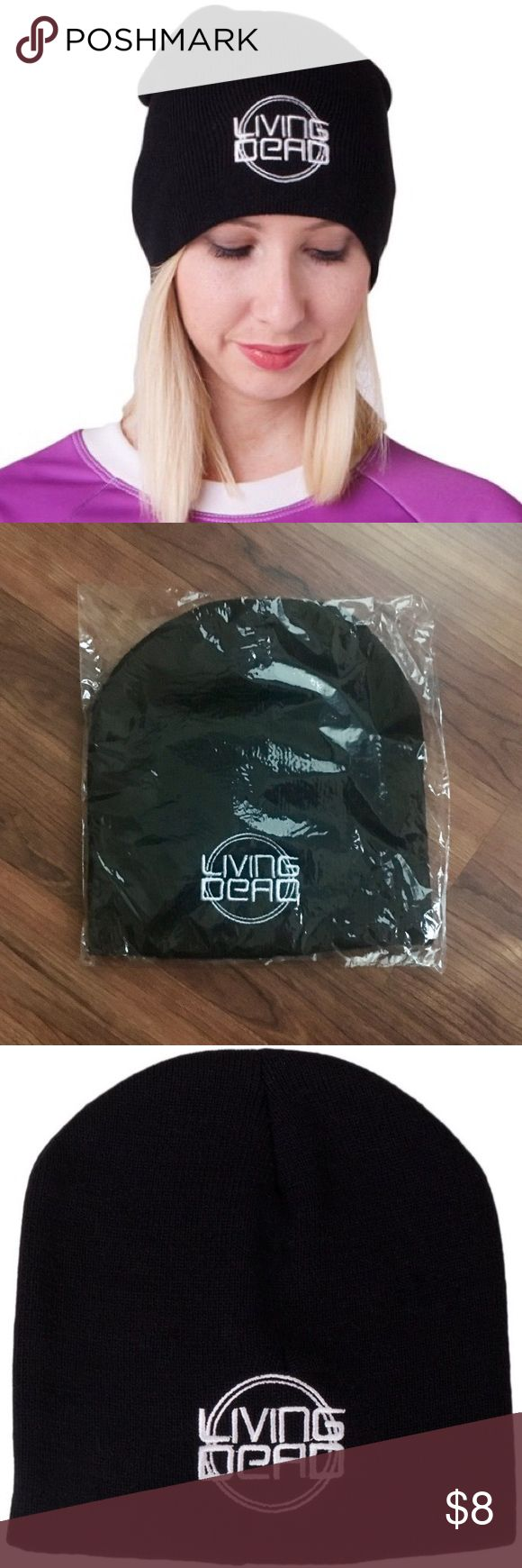 ✨ NEW Living Dead Clothing Black Logo Beanie Brand new!! Australian brand Living Dead Clothing - 100% acrylic black beanie hat - made in Australia Blackmilk Accessories Hats