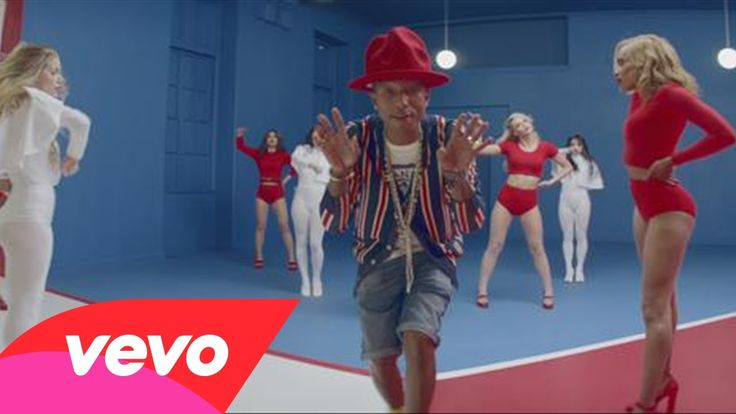 check out Pharrell Williams' music vid for 'Marilyn Monroe' from G I R L album, where it's all about celebrating women.  w/his infamous westwood 'mountain' hat making an appearance in various colors, the women, the looks + the choreography are simply sick!