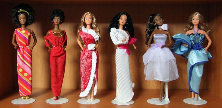 Some of my Steffie face dolls
