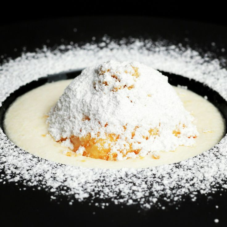 Hungarian quark dumplings with clotted cream foam