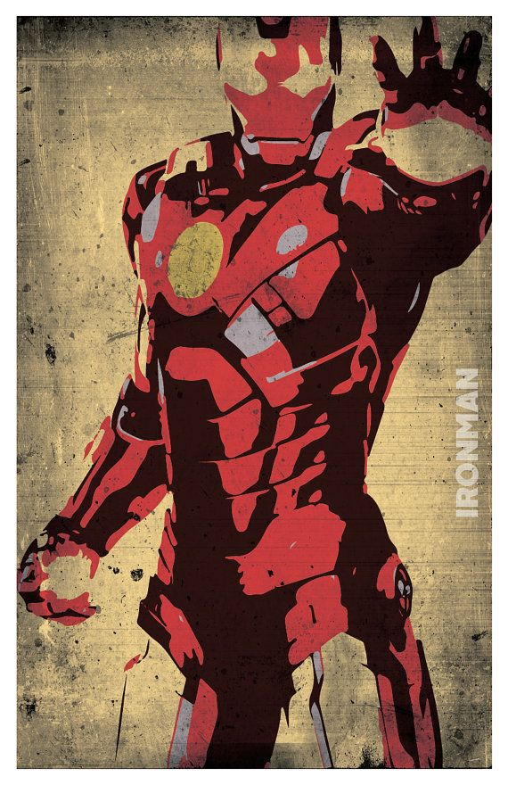 The Avengers Poster Set of 4 wall decor 11 x 17 Ironman Hulk