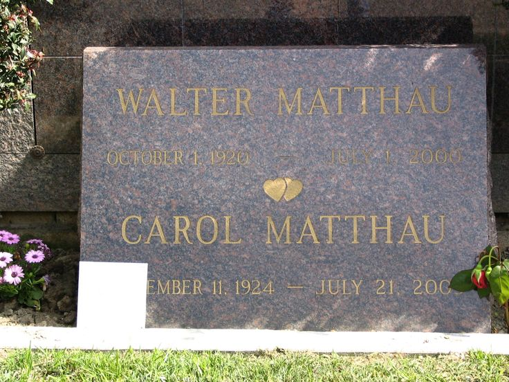 Walter Matthau - American actor and comedian, best known for his role as Oscar Madison in The Odd Couple and its sequel 30 years later, The Odd Couple II, and his frequent collaborations with Odd Couple co-star Jack Lemmon, particularly in the '90's with Grumpy Old Men.