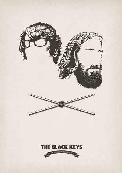 The Black Keys!! Can't wait to see their show in a few months!