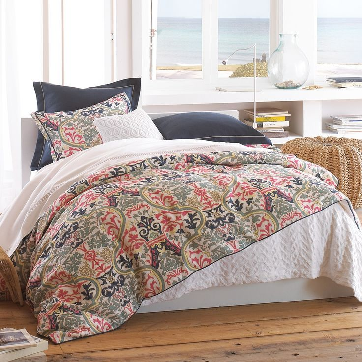 peacock alley bedding | Peacock Alley Catalina Coral Duvet Covers, Shams and Pillows