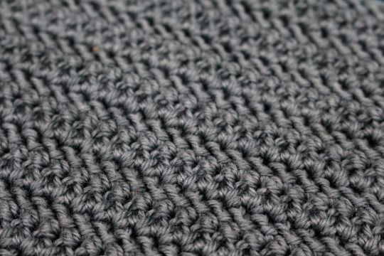 This Graphic Parallelogram Stitch Pattern Creates A Modern Texture Of