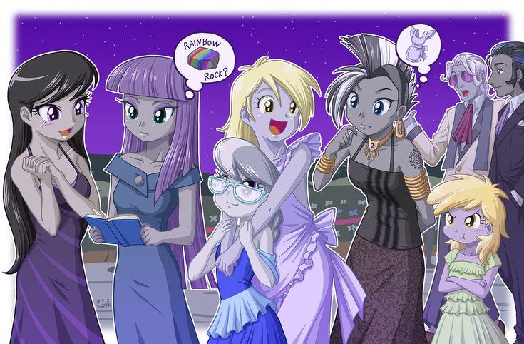Grayish Ponies by uotapo.deviantart.com on @DeviantArt
