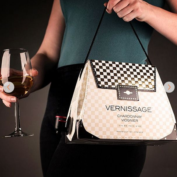 Vernissage Wine Handbag