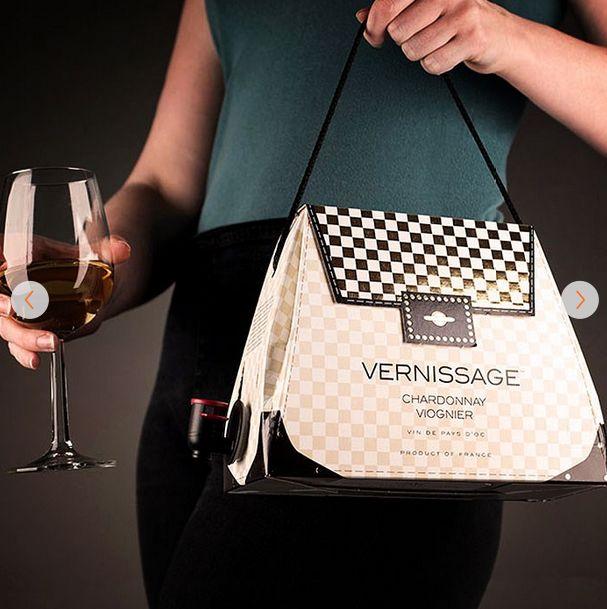 Vernissage Wine Handbag