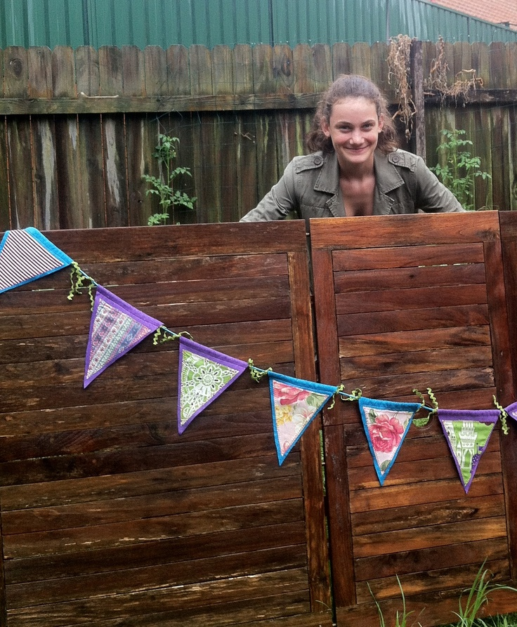 Home made bunting