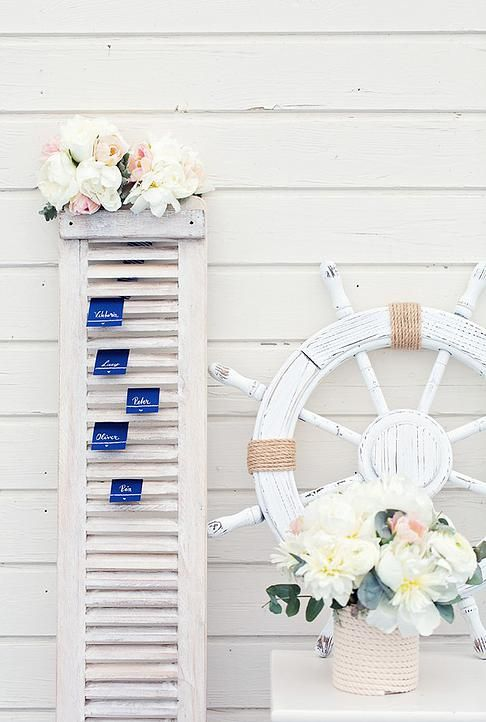 DIY Wedding Planning | Nautical Palette #nauticalwedding
