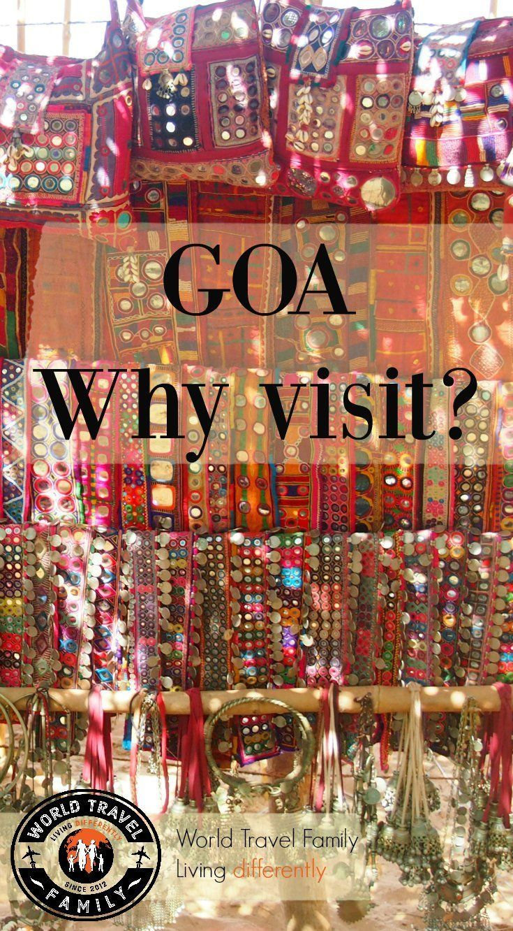Visiting Goa, India. What is Goa like and why go? Family travel and travel in Goa, India. via /worldtravelfam//