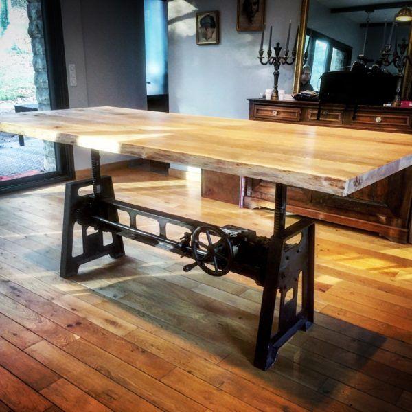 Table De Salon Reglable En Hauteur Table Elevatrice Table Reglable Hauteur Table Reglable