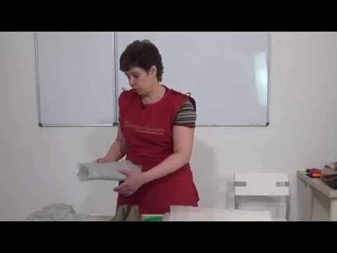 Ирина Полубояринова. Тапочки. Работа над ошибками - YouTube
