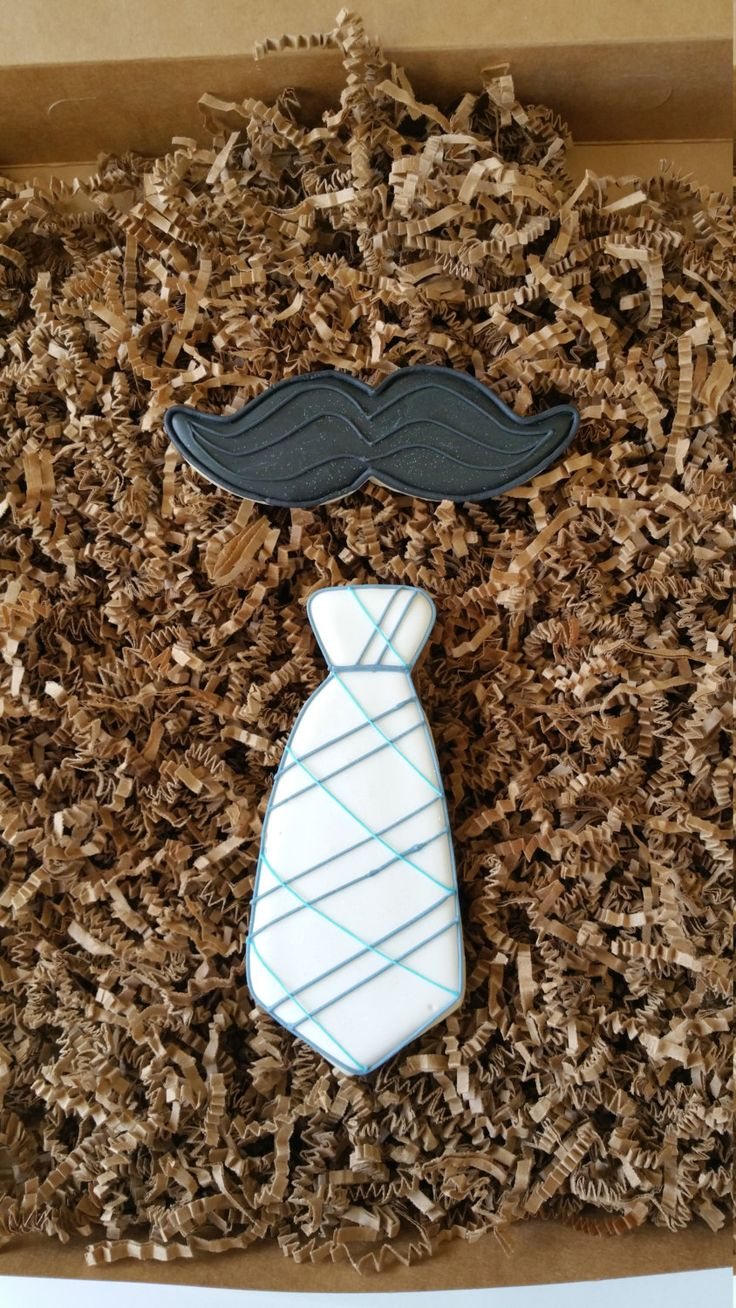 Neck tie cookies, royal icing sugar cookies,mustache cookies,boy baby shower, boys baptism cookies , baby boy birthday party,father's day, by KessaCakes on Etsy