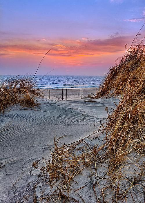 Daybreak on the Outer Banks by Dan Carmichael