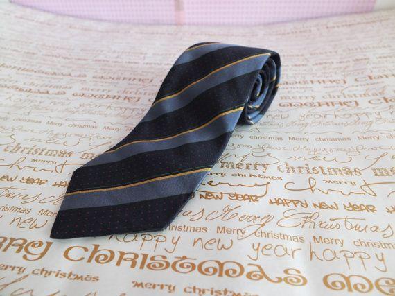 CHRISTIAN DIOR / Cravate en soie Christian Dior par Lucillesandcop