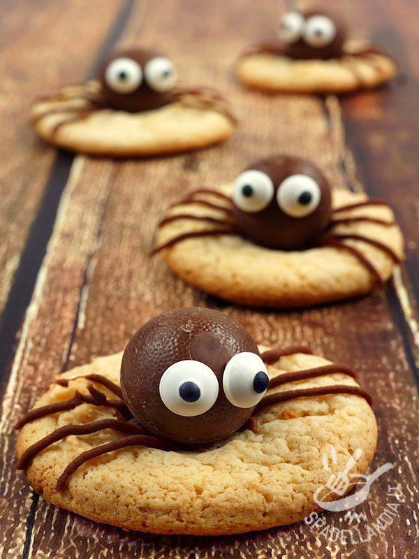 I Ragnetti di cioccolato si prestano per la festa di Halloween ma volendo anche per un compleanno spiritoso o per una festa a sorpresa bizzarra o horror! #halloween