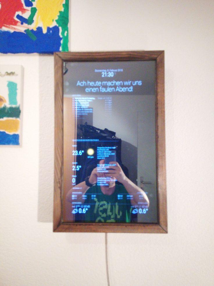 Magic Mirror selber bauen – Eine einfache und vollständige Anleitung – Fabian Schmitt