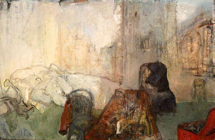 Ольга Плужникова-Орлова 1120. «Cite des Arts»  2009, 70х106см, картон, масло