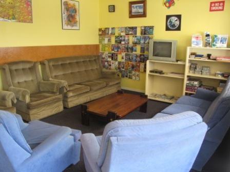 Te Tiriti Lodge Lounge and TV Room