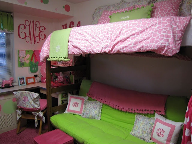 Decorating Ideas > 112 Best Images About Pink And Green Dorm Rooms On  ~ 003811_Green Dorm Room Ideas