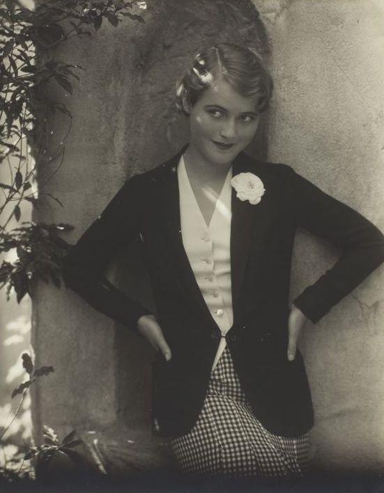 Lois Moran ( Fitzgerald friend and Muse) by Edward Steichen, 1928