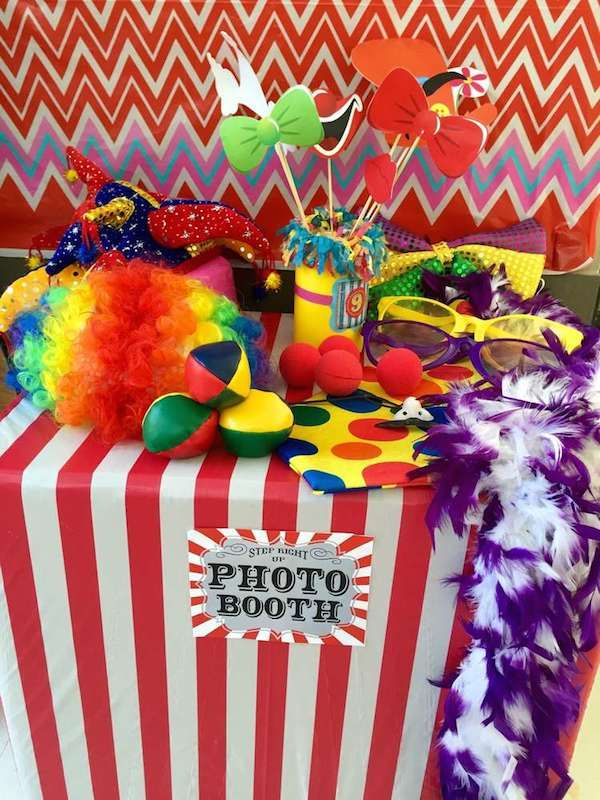 fiestas infantiles de circo cumpleaos de circoideas