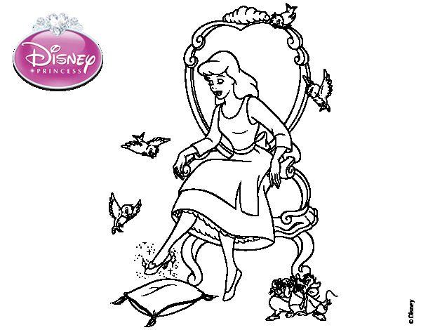 Princesas Disney Dibujos Para Colorear De Jasmín: Dibujos Para Colorear Princesas