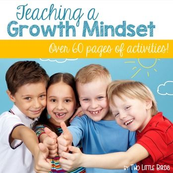 Everything you need to teach a growth mindset in your classroom! *Seven interactive activities to introduce, apply, and reflect on fixed