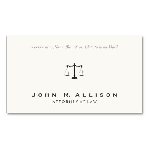 The 22 best customizable attorney and professional business cards simple and sophisticated attorney off white business card perfect for attorneys paralegals judges colourmoves
