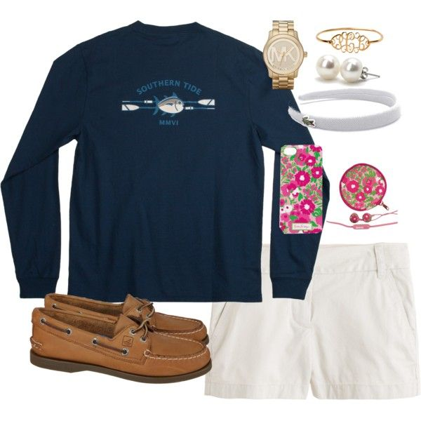 """""""Going Home OOTD"""" by classically-preppy on Polyvore"""