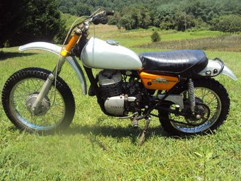 1972 ? Yamaha 250 dirt bike   Collectors Weekly