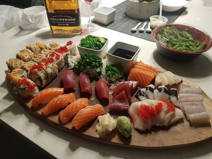 I've seen some amazing new years sushi arrangements and