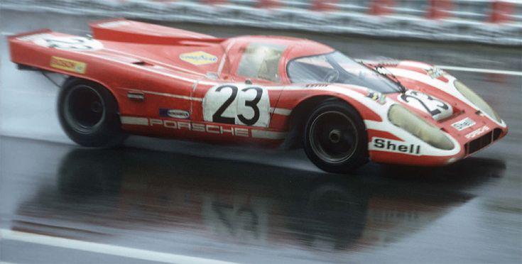"""Salzburg Porsche 917 # 23 """"RED""""  LeMans 1970"""