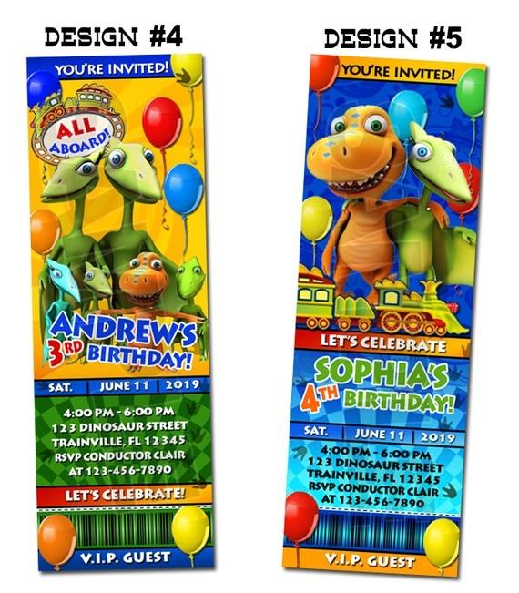 227 best for katie images on pinterest | dinosaurs, dinosaur train, Birthday invitations