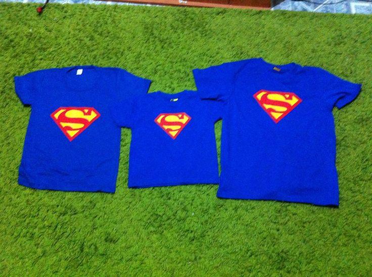 POLERAS SUPERMAN