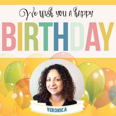 We would like to wish store auditor Veronica a very #HappyBirthday today! We hope your day is as sunny as you are. Enjoy your special day.