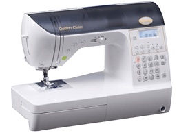 my addiction! My Babylock quilters choice sewing machine