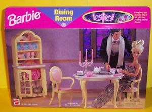 barbie dining room suite - Google Search