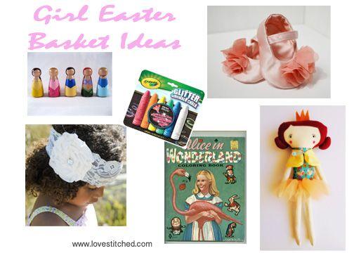 Girl Easter Basket Gift Ideas Happy Easter Pinterest