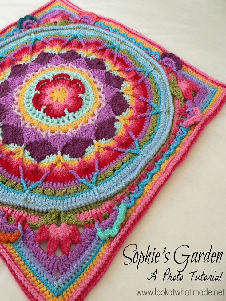 [Free Patterns] 10 Fun Crochet Granny Squares for your next DIY project