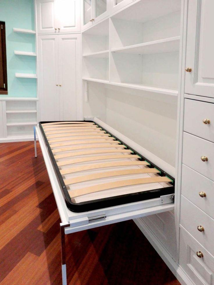 17 migliori idee su armadio per camera da letto su - Letto nell armadio ...