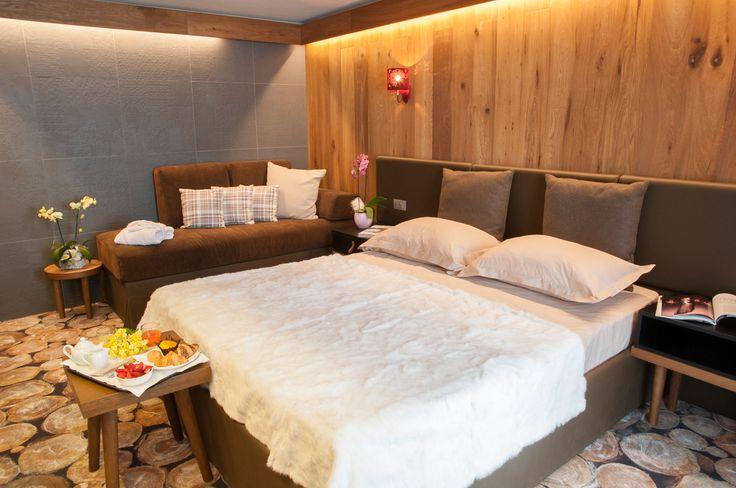 Un esempio di Suite Stylish  del Charm Hotel Alexander, ogni dettaglio diventa parte integrante dell'esperienza di soggiorno