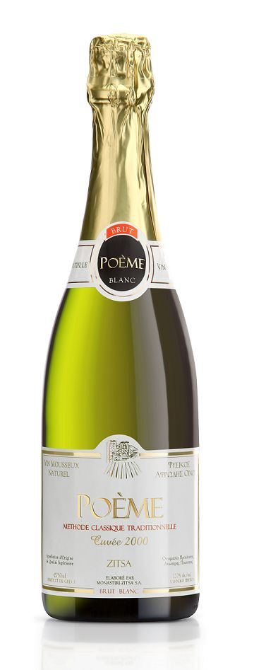 Poeme Brut is produced following the traditional method of Champagne! The Greek variety Debina has great potentials!!