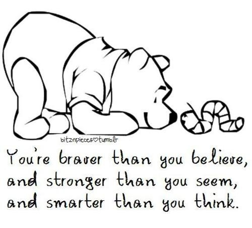 Winnie the Pooh bear quote
