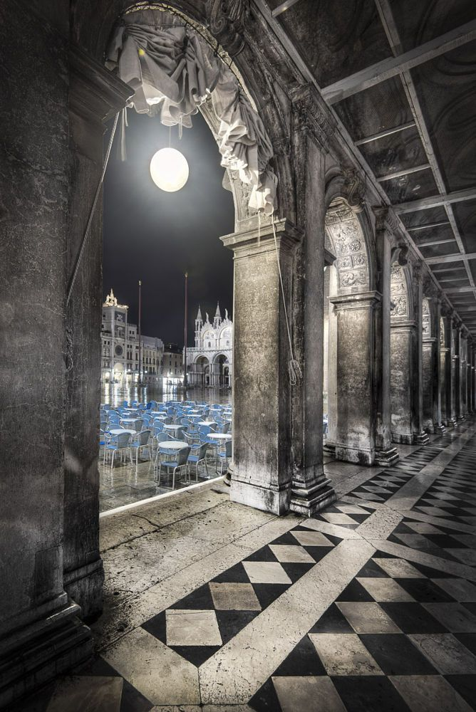 Portalized Marcus Square by Jacob Surland on 500px, Piazza San Marco, Venice, Italy