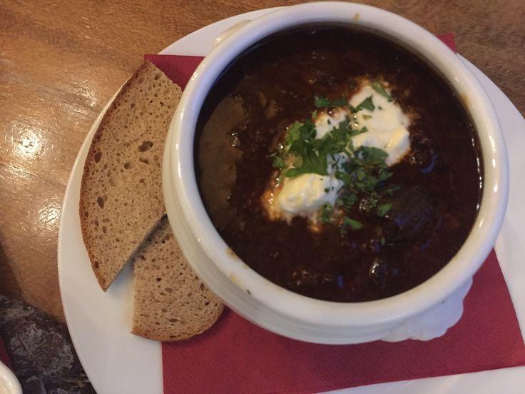 Goulash soup in Berlin