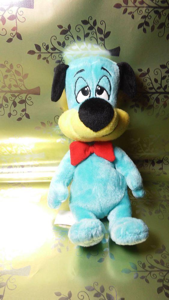 Huckleberry Hound Blue Dog Hanna Barbera Boomerang Cartoon Network 2002 Plush #HannaBarbera